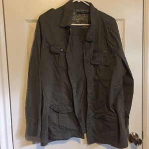 Olive green jacket - Maurice's plus size